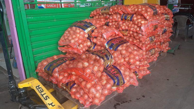 Comerciantes solicitarán importación de cebolla y papa Managua. Por Douglas Midence/Radio La Primerísima