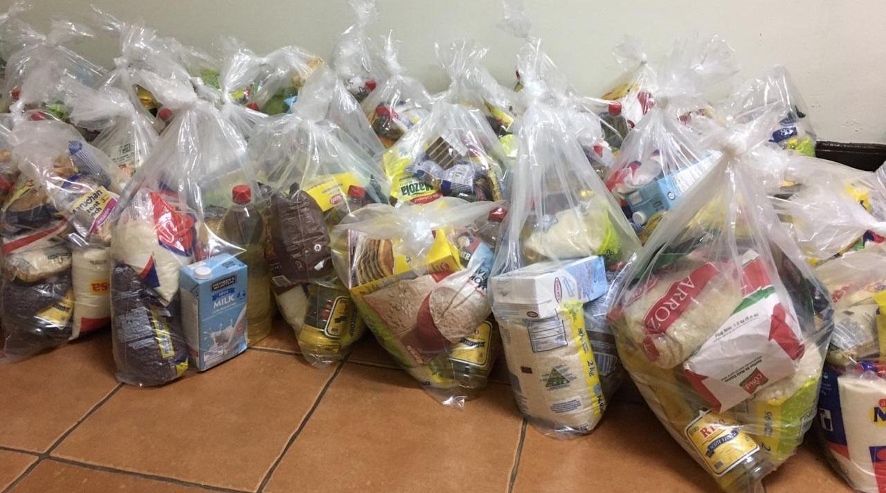 Tabacaleras entregan víveres para damnificados Managua. Radio La Primerísima