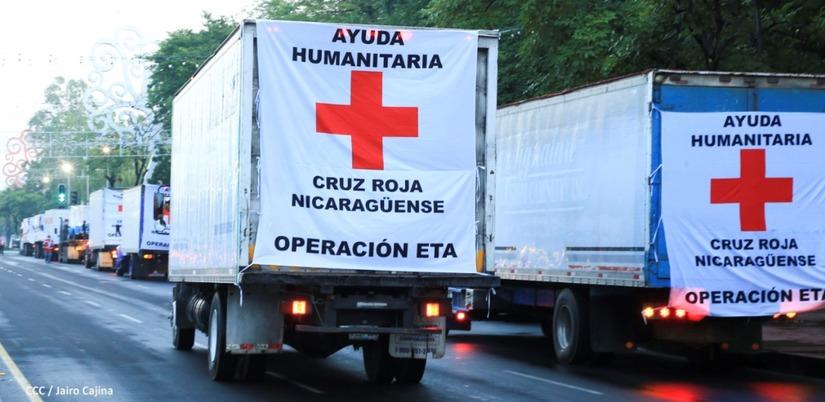 Llega a Waspam ayuda humanitaria de Cruz Roja Nicaragüense Managua. Radio La Primerísima