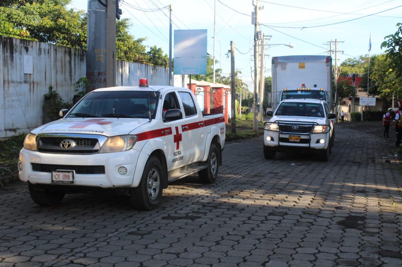 Llevan alimentos a familias en Rivas Managua. Radio La Primerísima