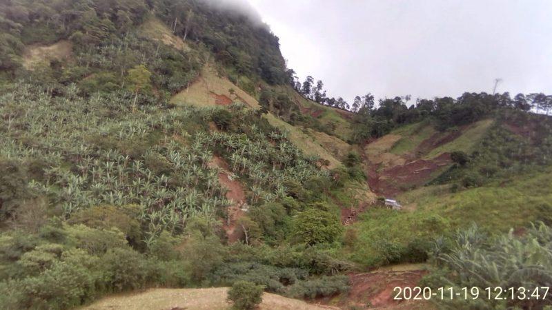Lluvias destruyen mini acueductos en Wiwilí Managua. Por Douglas Midence/Radio La Primerísima