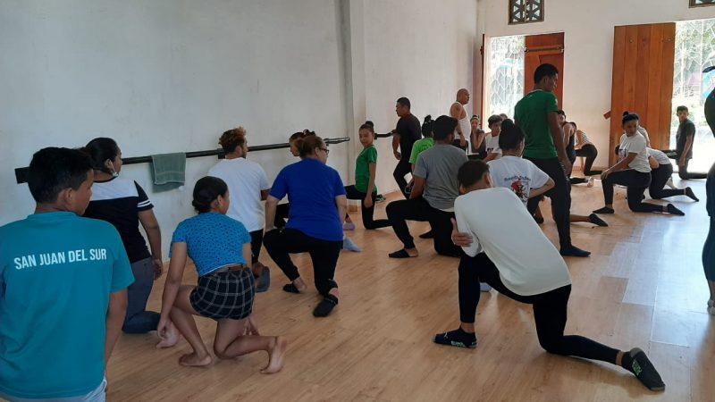 Gradúan a 60 instructores de danza folklórica Managua. Por Jaime Mejía/Radio La Primerísima