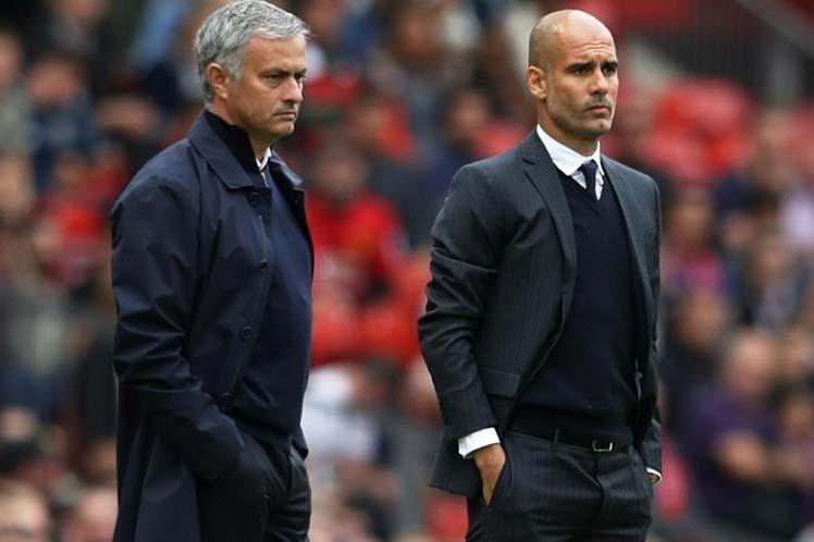Mourinho gana el duelo a Guardiola en fútbol inglés Londres. Prensa Latina