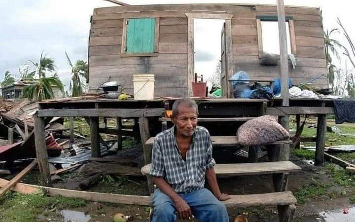 Huracán destruye caserío en comunidad de Klingna Managua. Radio La Primerísima