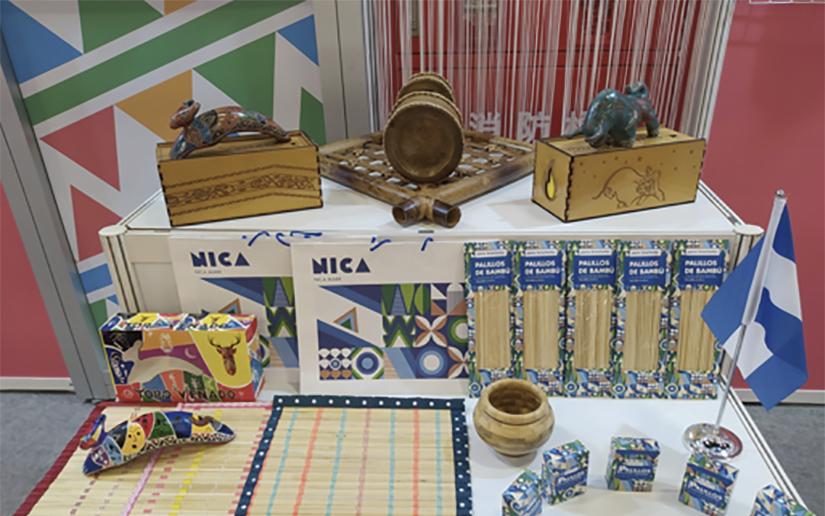 Nicaragua exhibe cerámica y otros productos en Taiwán Managua. Radio La Primerísima