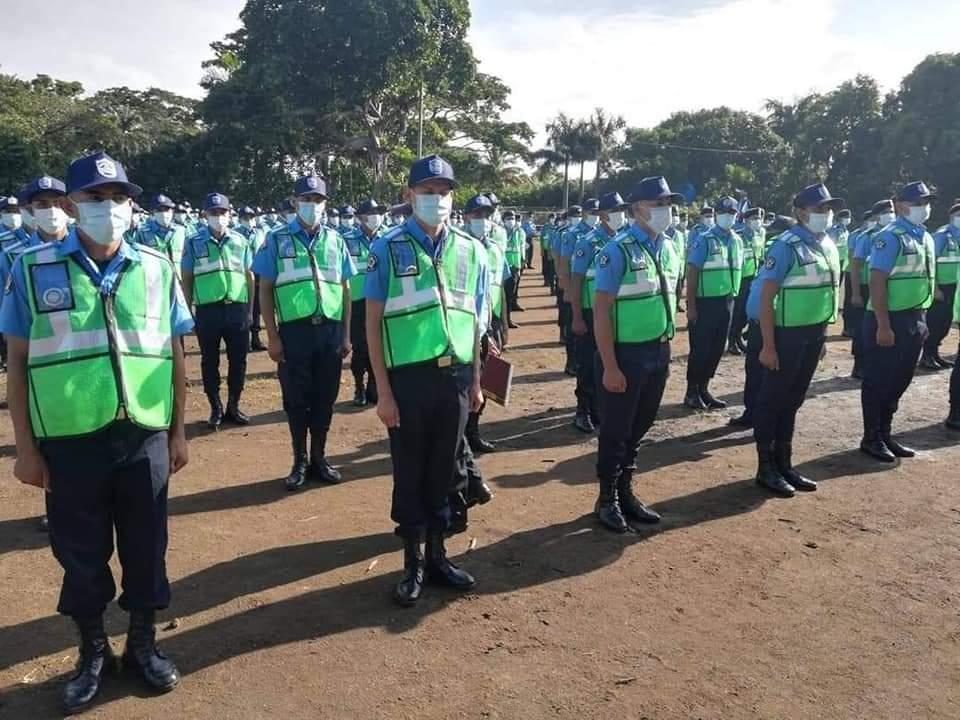 954 nuevos policías reforzarán seguridad Managua. Radio La Primerísima