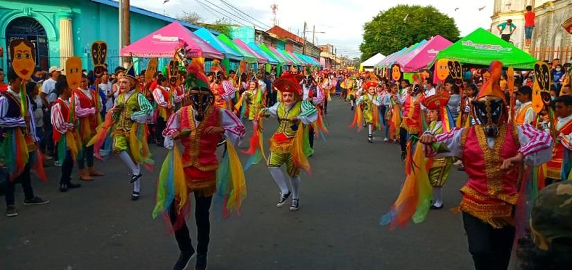 Carazo realiza festival El Güegüense Managua. Radio La Primerísima