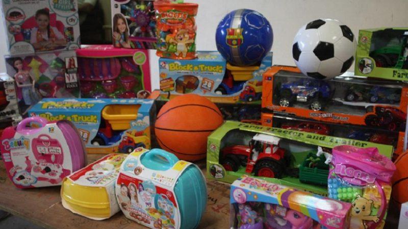 Sale primer envío de juguetes hacia zonas más alejadas Managua. Radio La Primerísima