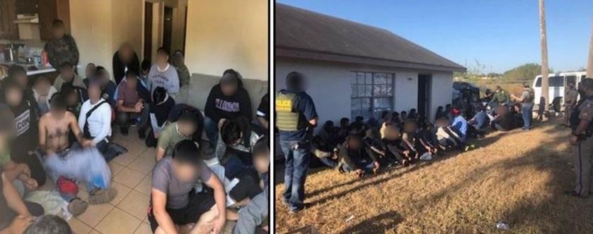Encuentran inmigrantes en casas de seguridad en Texas Edinburg, Texas. Telemundo