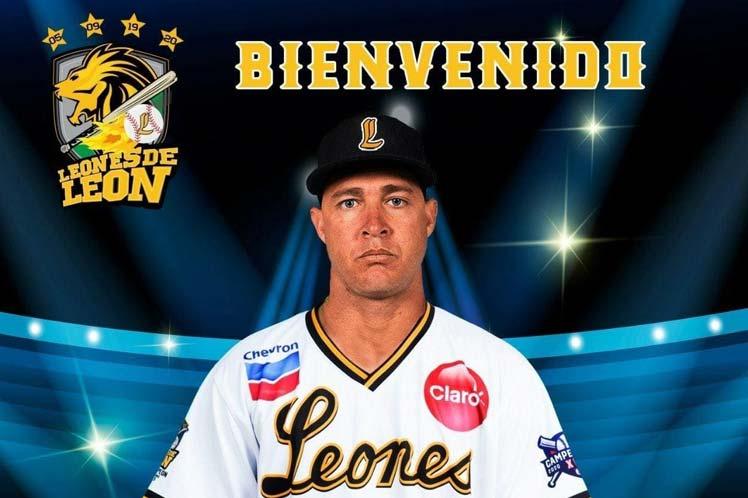 Lázaro Blanco llega a Nicaragua para jugar béisbol profesional Managua. Prensa Latina