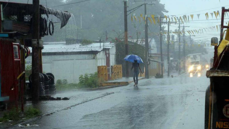 Alcaldía capitalina no registra grandes afectaciones por lluvias Managua. Por Douglas Midence/Radio La Primerísima