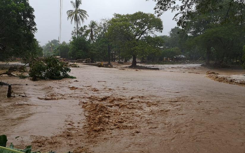Lluvias también afectaron otros departamentos Managua. Radio La Primerísima
