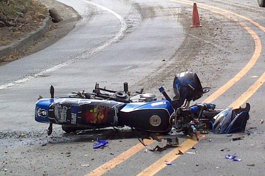 Motociclista resulta con heridas de gravedad en accidente de tránsito Managua. Por Rebeca Flores/Radio La Primerísima