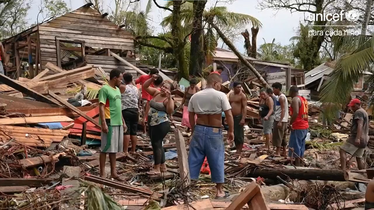 «El espíritu caribeño nunca se pierde y vamos a salir adelante» Bilwi. Prensa Unicef