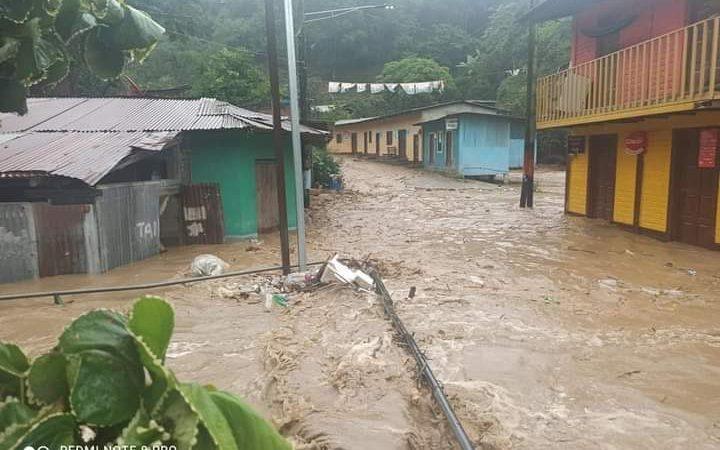 Colapsa vivienda tras lluvias en municipio de Murra Managua. Radio La Primerísima