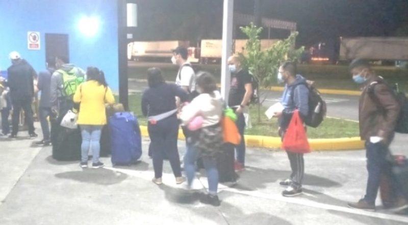 Arriban 238 nicaragüenses procedentes de Panamá Managua. Radio La Primerísima
