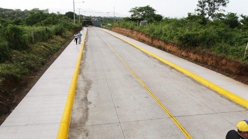 Lluvias no detienen avances en obras de progreso Managua. Por Douglas Midence/Radio La Primerísima