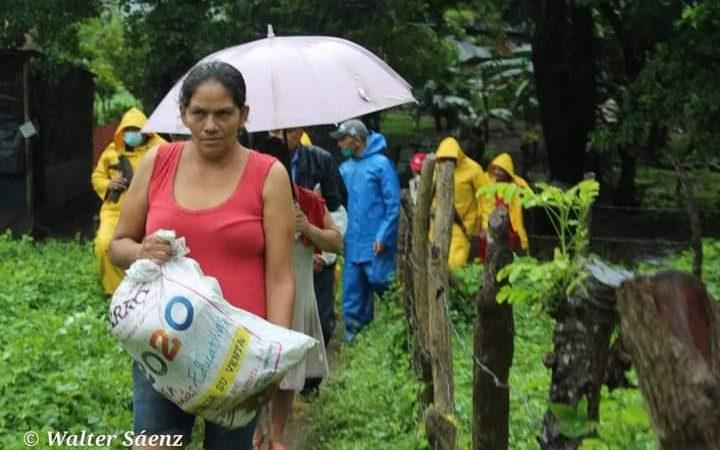 Rivas bajo torrenciales aguaceros Managua. Por Jerson Dumas/Radio La Primerísima