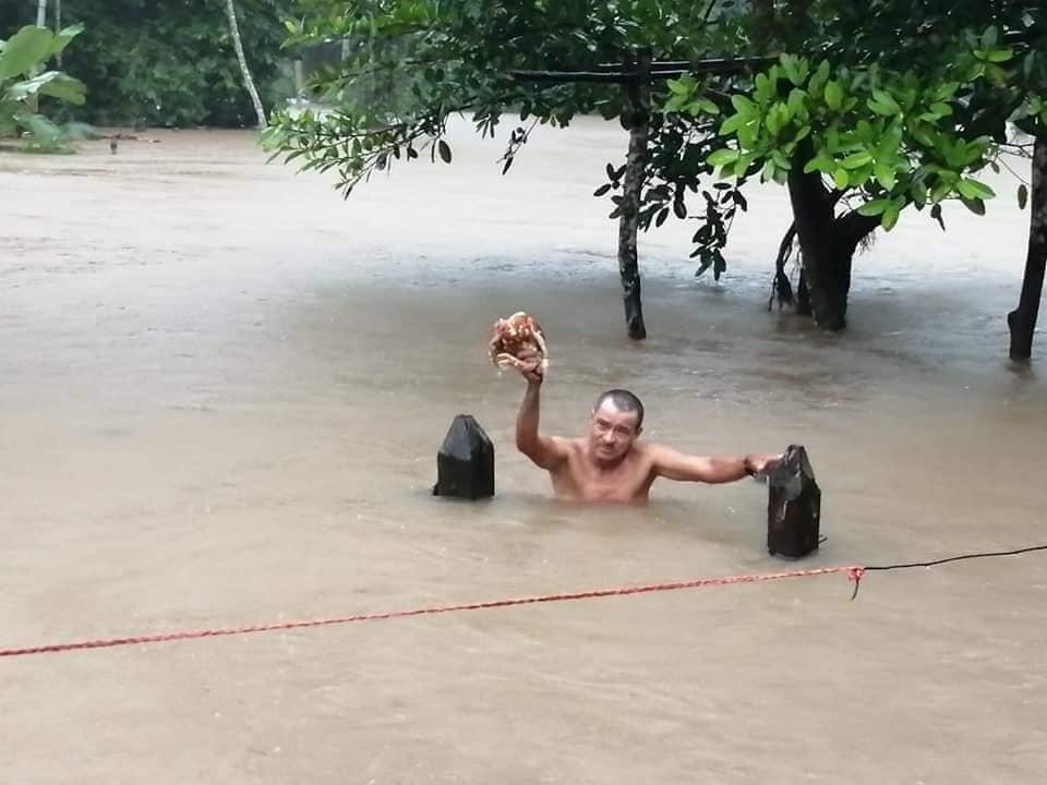 Evacúan a pobladores de una comunidad en Mulukukú Managua. Radio La Primerísima