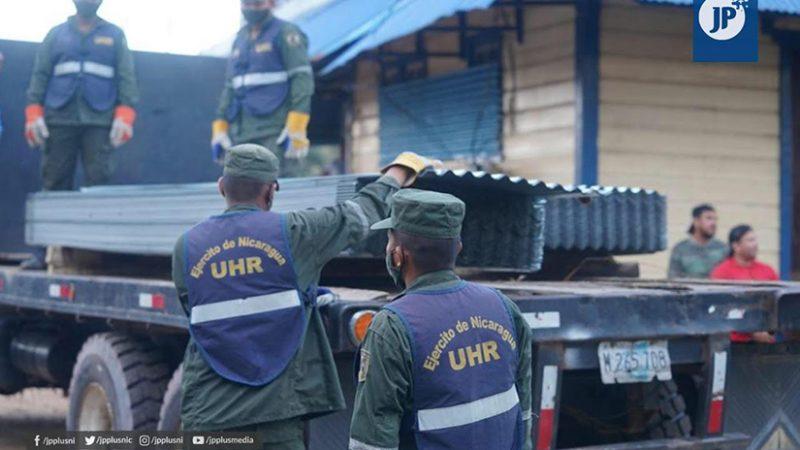 Envían alimentos y víveres a afectados por ciclones Managua. Radio La Primerísima