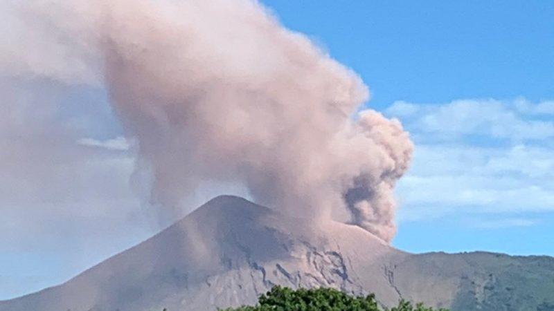 Volcán Telica registra más de 50 explosiones Managua. Radio La Primerísima
