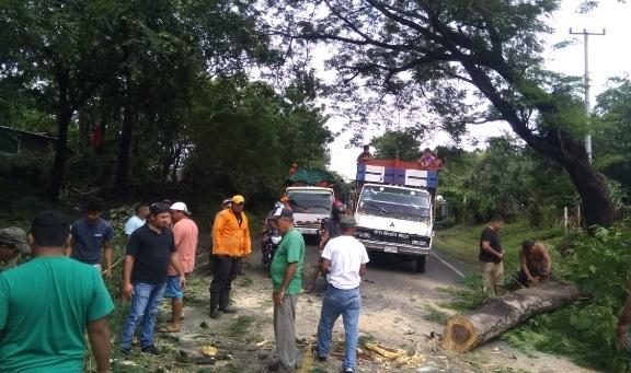 MTI restablece red vial en gran parte del país Managua. Radio La Primerísima