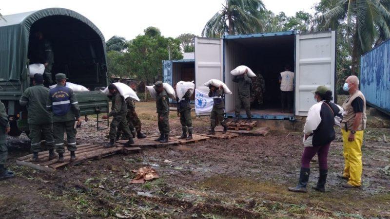 Fluye ayuda para habitantes de Waspam Managua. Radio La Primerísima