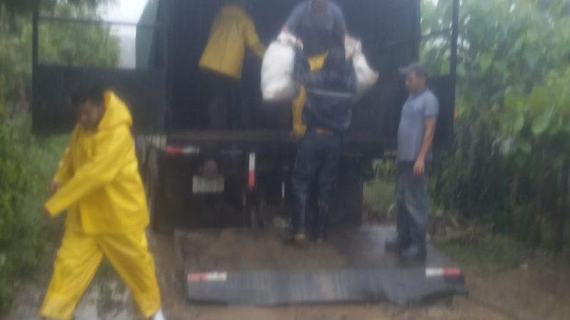 Evacúan a familias de los caños La Joba y La Bujona en Wiwilí Managua. Por Douglas Midence/Radio La Primerísima