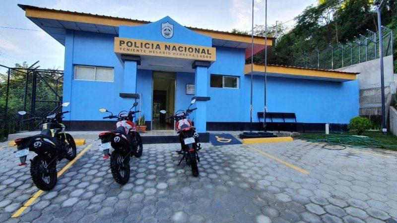 Inauguran estación policial en Macuelizo Managua. Por Jerson Dumas/Radio La Primerísima