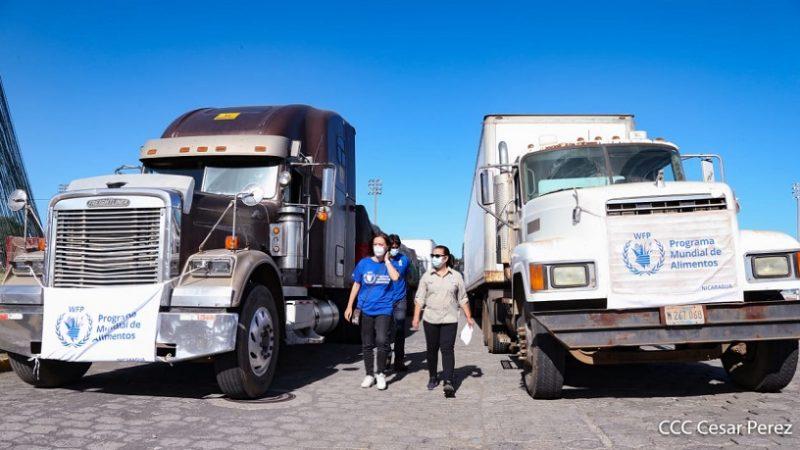 200 toneladas de ayuda humanitaria salen para el Caribe Norte Managua. Radio La Primerísima
