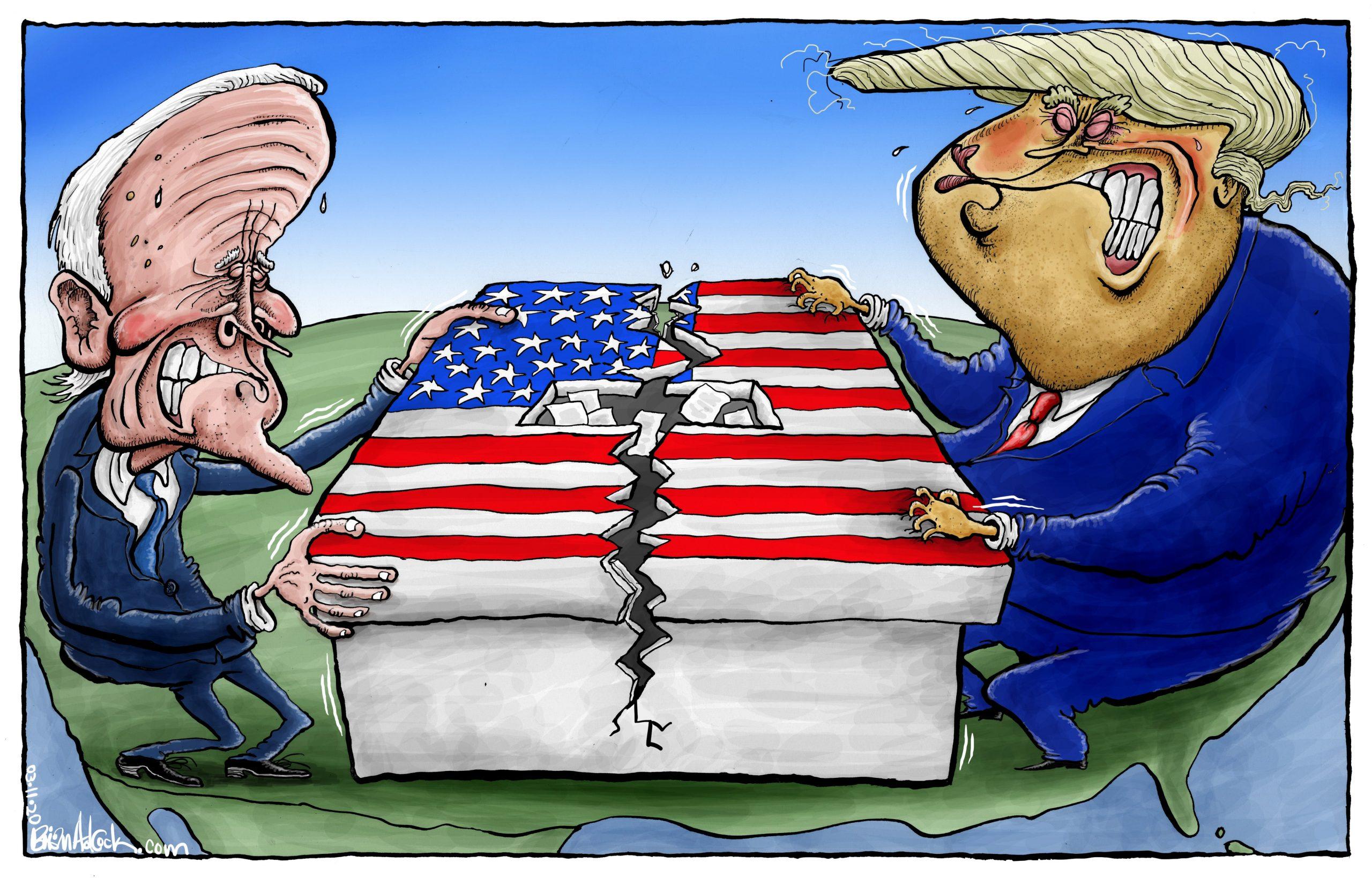 La guerra en EEUU: ¿de las elecciones al enfrentamiento armado? Por Manuel Salvador Espinoza Jarquín