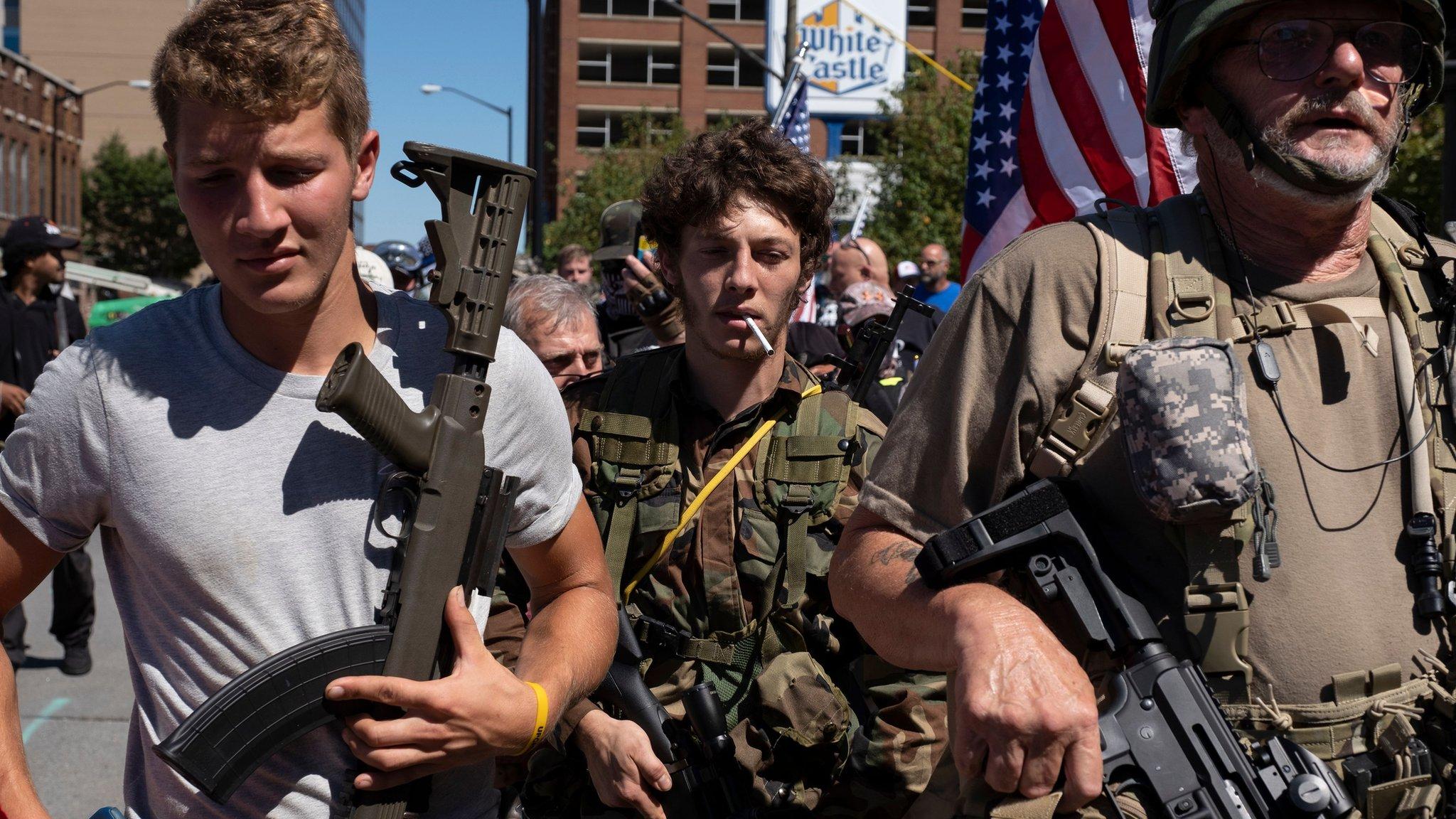 ¿Es inevitable la guerra civil en Estados Unidos? Por Thierry Meyssan | Red Voltaire