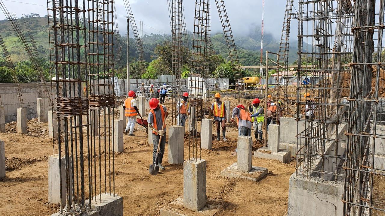 Sustancial avance en la construcción del hospital de Quilalí Managua. Radio La Primerísima.