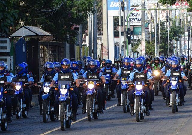Policía lista para iniciar operativo navideño de seguridad Managua. Radio La Primerísima