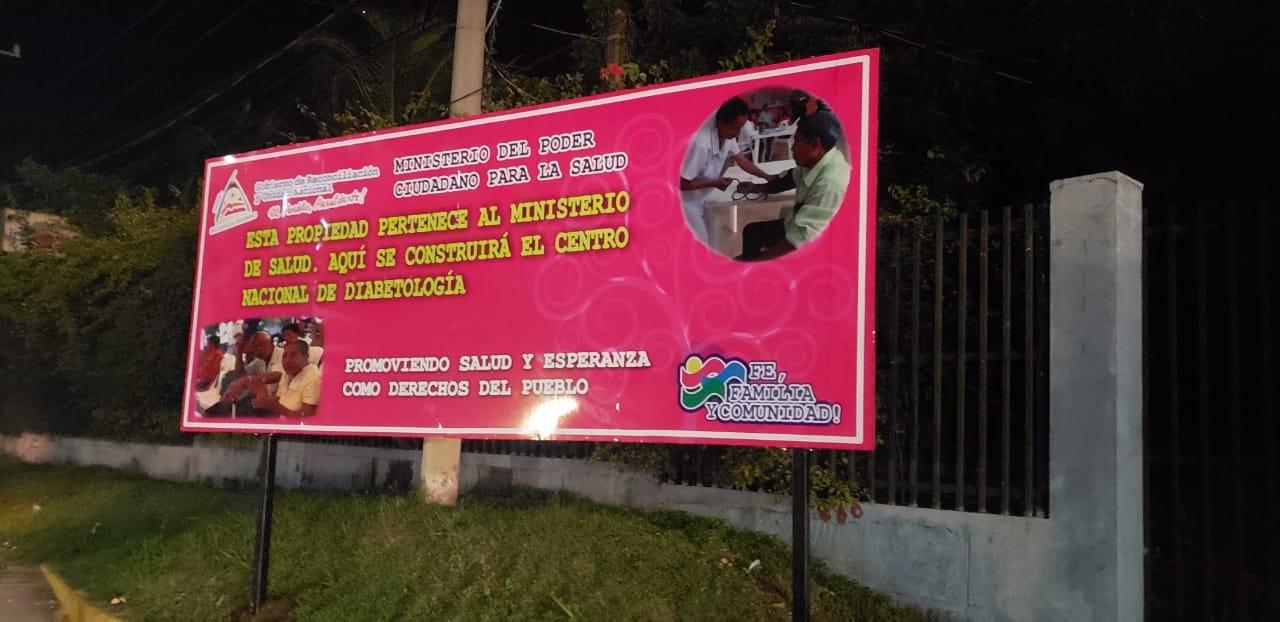 Antiguas sedes de ONG tranqueros ahora son propiedad del Minsa Managua. Radio La Primerísima