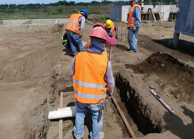 Avanzan labores en planta de tratamiento residual en Ciudad Belén Managua. Radio La Primerísima