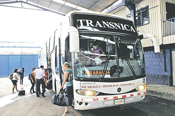 Reportan menos viajeros hacia Costa Rica Managua. Por Jaime Mejía/Radio La Primerísima