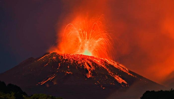 Volcán Pacaya cumple 49 días con fuerte actividad EFE