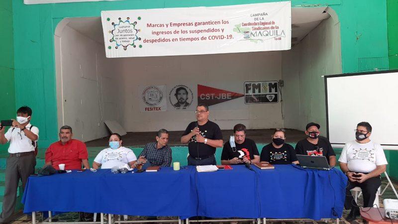 Reajustan salario a 120 mil obreros del sector textil Managua. Por Douglas Midence/Radio La Primerísima