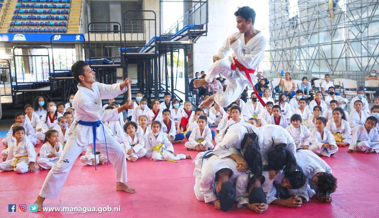 Inician clases en Academia de Taekwondo de Alcaldía de Managua Managua. Radio La Primerísima