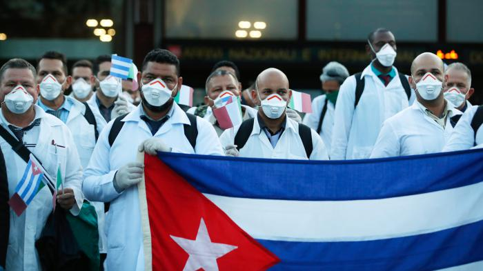 Solicitan en Panamá Premio Nobel para médicos de Cuba Panamá. Prensa Latina