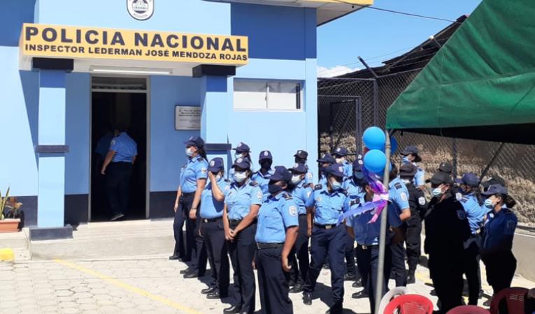 Inauguran Comisaria de la Mujer en Nueva Segovia Managua. Jerson Radio La Primerísima