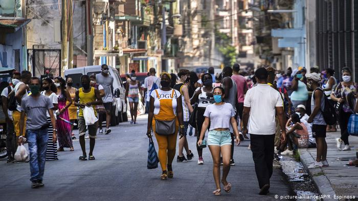 Cuba reporta cifra récord de contagios por Covid-19 teleSUR