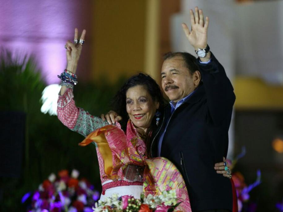 14 años de Gobierno Sandinista Managua. Prensa Latina