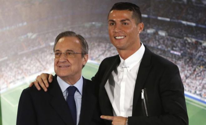 Reencuentro entre Florentino Pérez y Cristiano Ronaldo Agencia