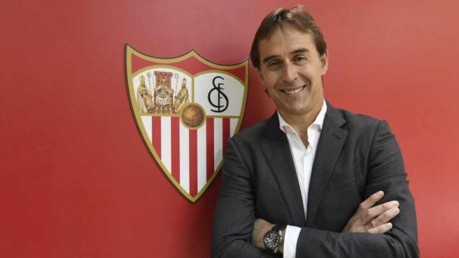 Lopetegui renueva con el Sevilla hasta 2024 AP