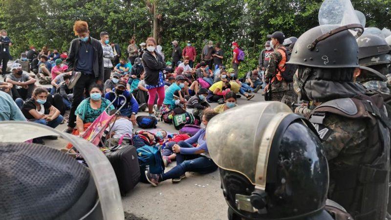 Detectan 21 casos de Covid-19 en caravana migratoria Agencia