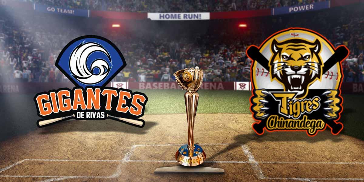 Tigres y Gigantes se enfrentan hoy en Rivas Managua. Radio La Primerísima