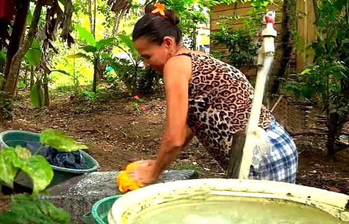 Familias de comunidad La Palmera ya cuentan con agua potable Managua. Radio La Primerísima