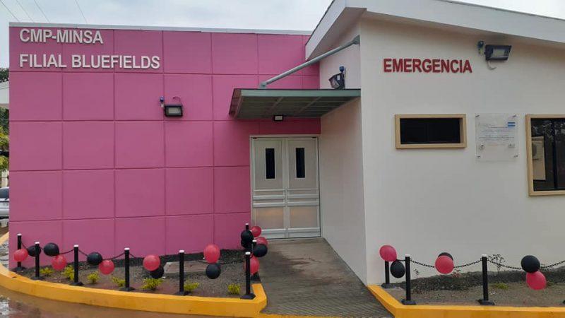 Inauguran sala de emergencia en clínica previsional en Bluefields Managua. Radio La Primerísima